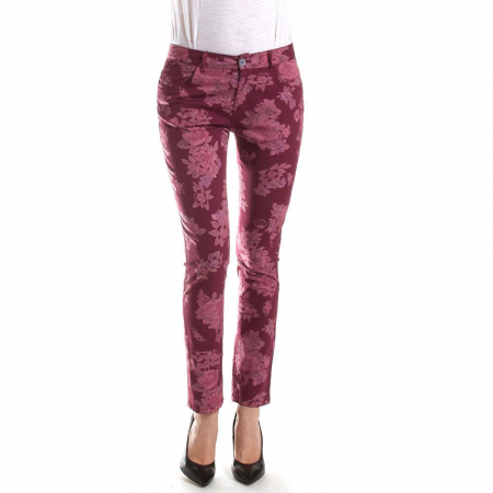 PACK 10-CARRERA BURGUNDY PANTS0