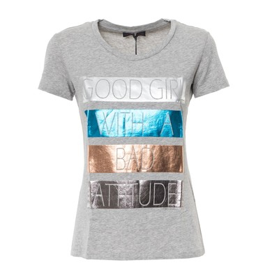 PACK 9 TRUSSARDI GRAY T-SHIRT WOMAN1