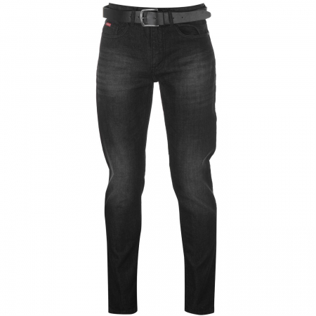 PACK 10 LEE COOPER JEANS +  CUREA BLACK0