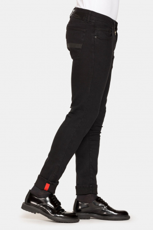PACK 10 BLACK STRETCH JEANS STYLE 7172