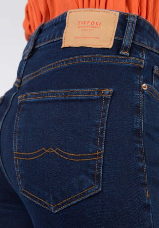 PACK 10 TIFFOSI Jeans women Amy 19 Straight Fit Cintura Alta6