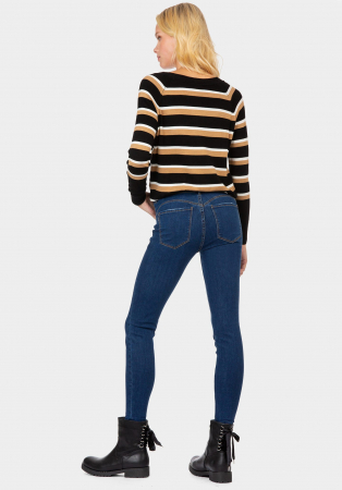 PACK 10 TIFFOSI Women Jeans Body Curve 47 Skinny Cintura Alta1