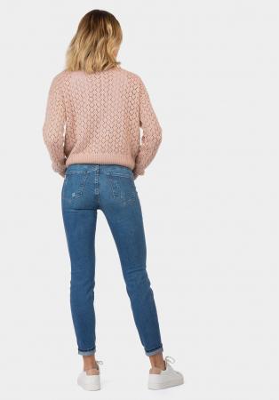 PACK 10 TIFFOSI Women Jeans Body Curve 48 Skinny Cintura Alta - TIFFOSI1