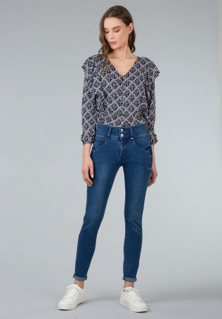 PACK 10 TIFFOSI Jeans women DOUBLE_UP_238 Skinny1