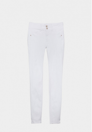 PACK 10 Jeans One Size Double-up 36 Skinny Cintura Alta0