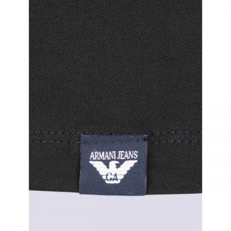 PACK 10 ARMANI JEANS Polo Shirt-Black2