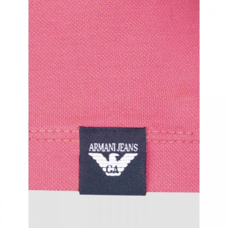 PACK 10 ARMANI JEANS Polo Shirt-Fuchsia slim fit2