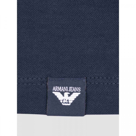 PACK 10 ARMANI JEANS Polo Shirt-Navy slim fit2