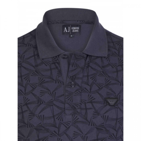PACK 10 ARMANI JEANS Polo Shirt cu model - indigo1
