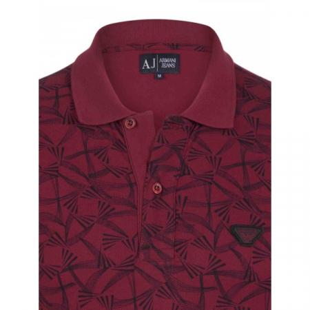 PACK 10 ARMANI JEANS Polo Shirt cu model - dark purple1
