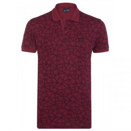 PACK 10 ARMANI JEANS Polo Shirt cu model - dark purple0