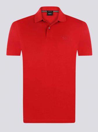 BOSS Tricou Polo barbatesc rosu [0]