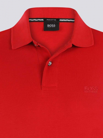 BOSS Tricou Polo barbatesc rosu [1]