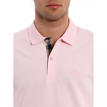 PACK 10 BURBERRY Hartford Pique Polo in Alabaster Pink1