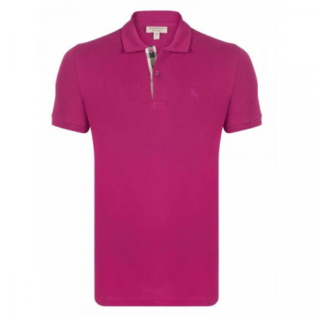 PACK 10 BURBERRY Hartford Polo Shirt in Coral Pink0
