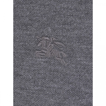 PACK 10 BURBERRY Hartford Polo Shirt in Dark Charcoal Melange2