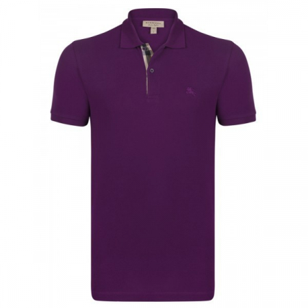 PACK 10 BURBERRY Hartford Polo Shirt in Dark Royal Purple0