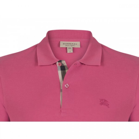PACK 10 BURBERRY Hartford Polo Shirt in Raspberry Sorbet1