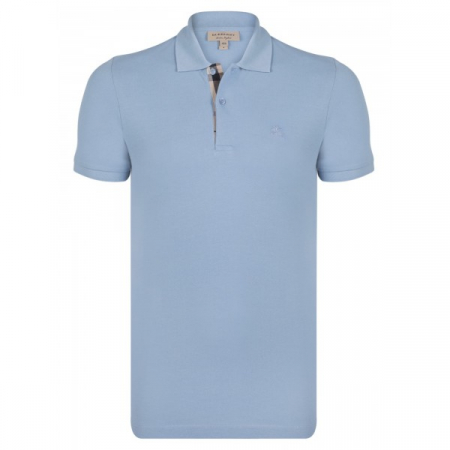 PACK 10  BURBERRY Hartford Polo Shirt in Turquoise0