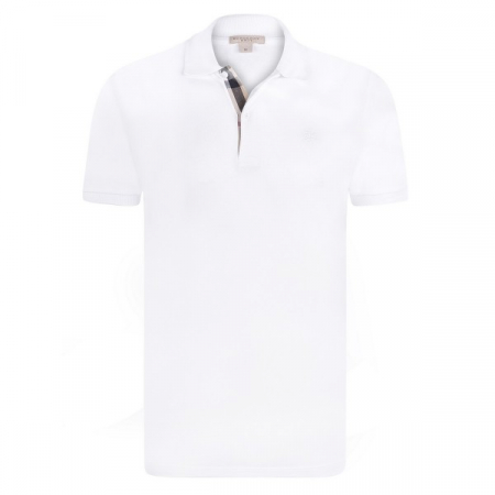 PACK 10 BURBERRY Hartford Polo Shirt in White0