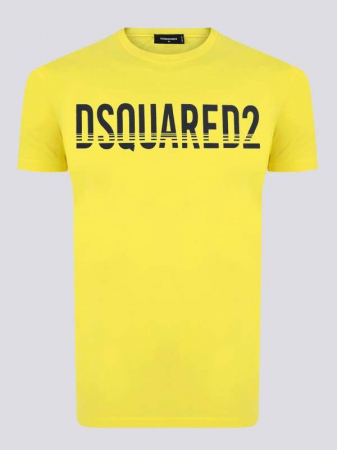 PACK 10 Dsquared2 Men's T-Shirts Yellow0