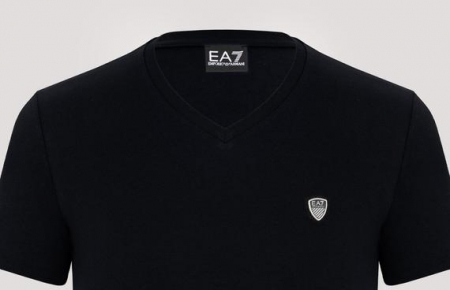 Tricou barbatesc Emporio Armani,negru [1]
