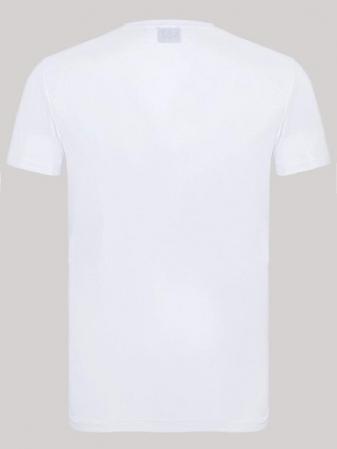 Tricou barbatesc Emporio Armani,alb [2]