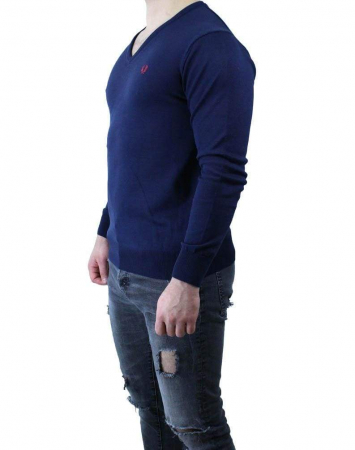 PACK 10 Fred Perry V Neck Men's Pullover4