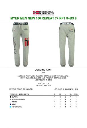PACK 30 GEOGRAPHICAL NORWAY  PANTALONI ASORTATI3