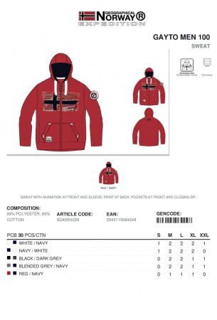 PACK 30 GEOGRAPHICAL NORWAY  HANORACE  ASORTATE1
