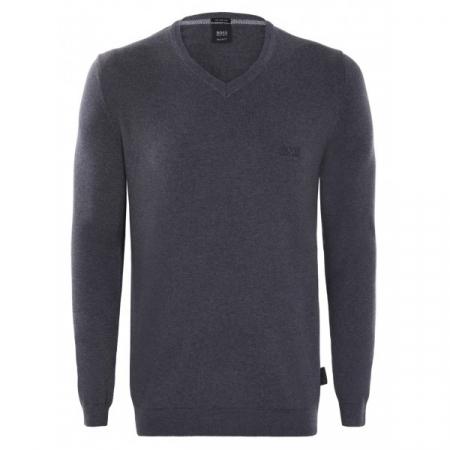 PACK 10 Hugo Boss BLACK LABEL V-Neck Sweater Antracite0