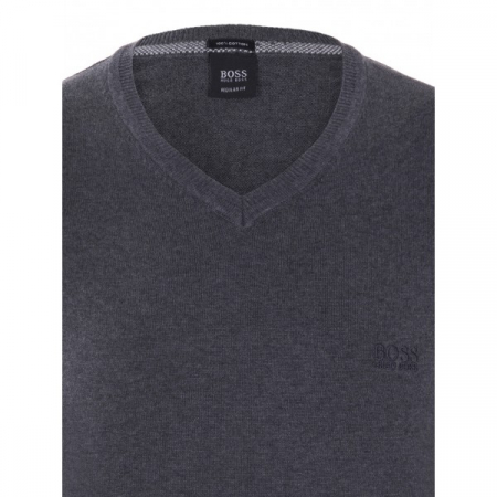 PACK 10 Hugo Boss BLACK LABEL V-Neck Sweater Antracite1