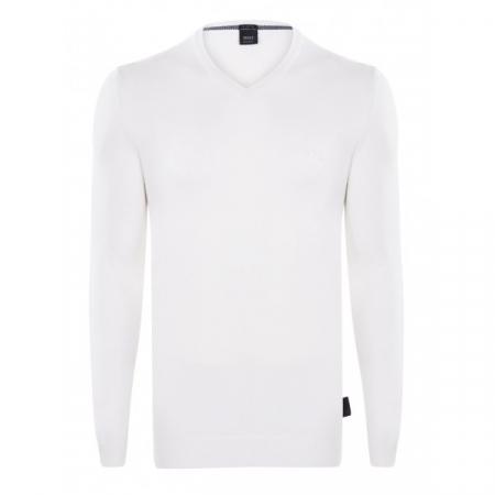 PACK 10 Hugo Boss BLACK LABEL V-Neck Sweater White0