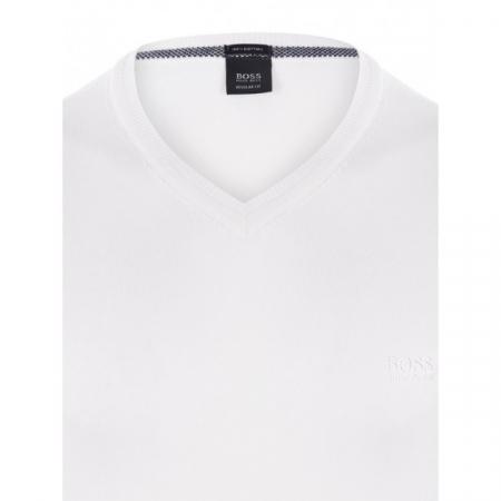 PACK 10 Hugo Boss BLACK LABEL V-Neck Sweater White1