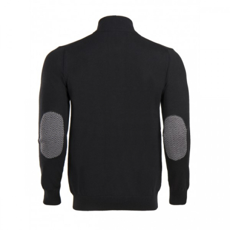 PACK 5 HUGO BOSS BLACK LABEL zip front jumper – Black1