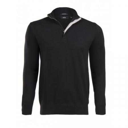 PACK 5 HUGO BOSS BLACK LABEL zip front jumper – Black0