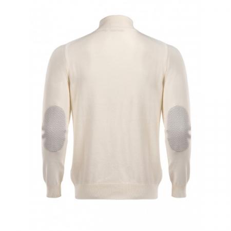 PACK 5 HUGO BOSS BLACK LABEL zip front jumper – Ecru1