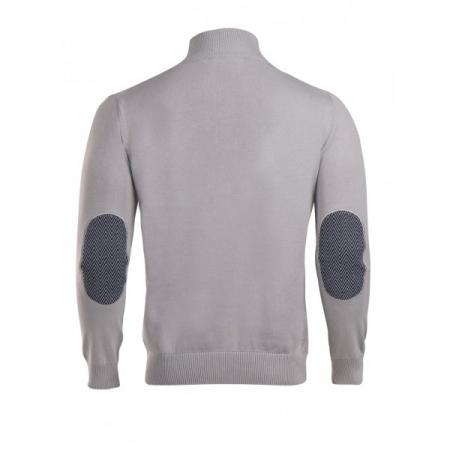 PACK 5 HUGO BOSS BLACK LABEL zip front jumper – Grey1