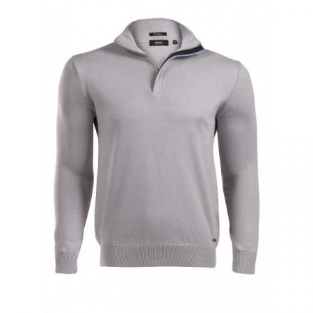 PACK 5 HUGO BOSS BLACK LABEL zip front jumper – Grey0