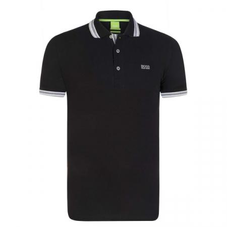 PACK 10 HUGO BOSS GREEN Label Poloshirt Paddy - Black_30