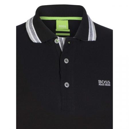 PACK 10 HUGO BOSS GREEN Label Poloshirt Paddy - Black_31