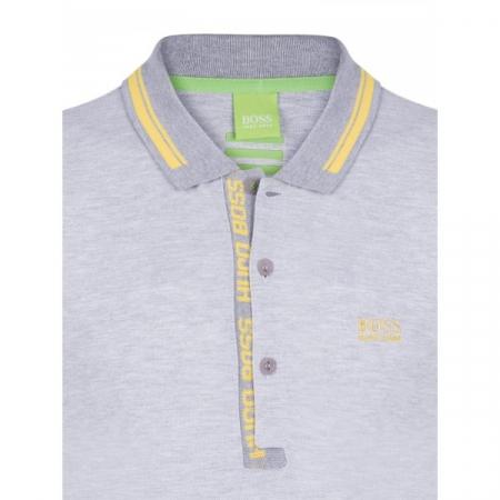 PACK 10 HUGO BOSS GREEN Label Poloshirt Paddy - Gray/Yellow0