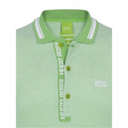 PACK 10 HUGO BOSS GREEN Label Poloshirt Paddy - Green/White0