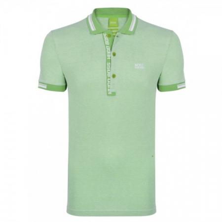 PACK 10 HUGO BOSS GREEN Label Poloshirt Paddy - Green/White1