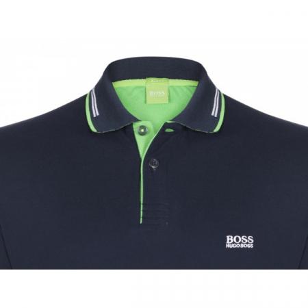 PACK 10 HUGO BOSS GREEN Label Poloshirt Paddy - Navy _11
