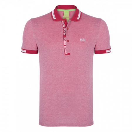 PACK 10 HUGO BOSS GREEN Label Poloshirt Paddy - Red/White1