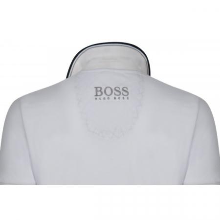 PACK 10 HUGO BOSS GREEN Label Poloshirt Paddy - White1