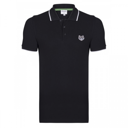 PACK 5 Kenzo  Cotton Polo Shirt -Black0