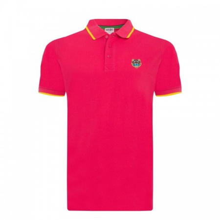 PACK 5 Kenzo  Cotton Polo Shirt - Pink0