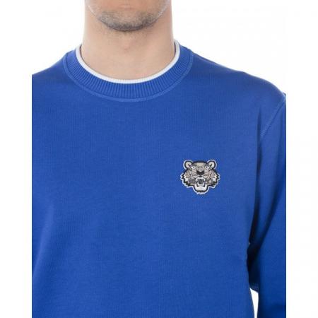 PACK 5 KENZO - Tiger Logo sweatshirt -Blue Sax1